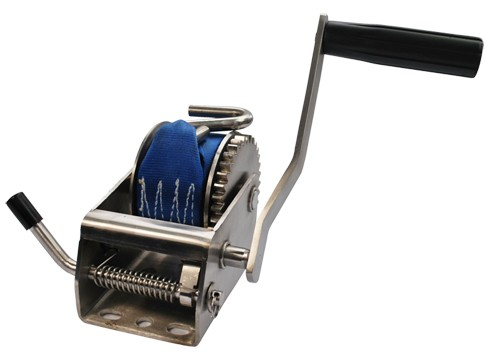 700lbs 300kg stainless steel trailer winch