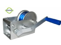 3300W HAND WINCH(WEBBING) DOCROMET WITH REMOVABLE HANDLE(SW3300W DACROMET)